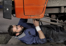 Car exhaust system repairs